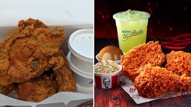 Betul Ke Pedas Menu Baru Dari KFC, Ayam Goreng Extra Hot & Spicy Ni?
