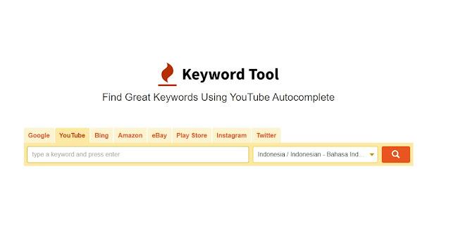 Cara Mencari Tag di YouTube Yang Relevan Dengan YouTube Keyword Tool