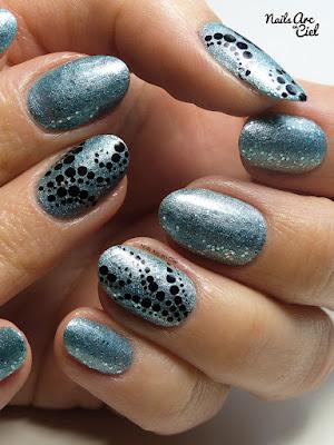 Nail Art - Farandole de pois super facile pour débutants par Nails Arc en Ciel