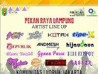 Catat, Ini Daftar Artis yang Bakal Meriahkan Pekan Raya Lampung