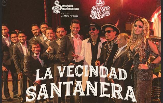 Concierto La Vecindad Santanera Mexico 2020