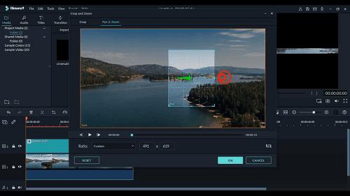 دورة تعلم وشرح filmora 9 كيفية إضافة شريط سينمائي للفيديو How to Add Cinematic Black Bars to Your Videos