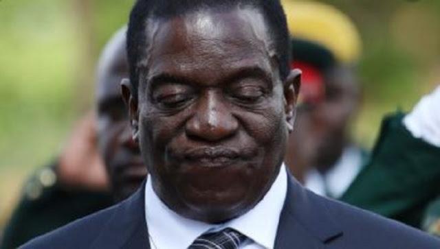 Zimbabwe President Emmerson Mnangagwa photos and video