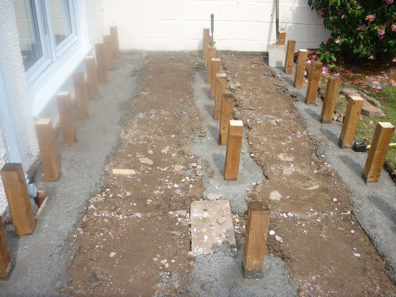 To Prevent Ponding You Need Just A Slight Slope Both Ways Run The Water Off Boards And Joists