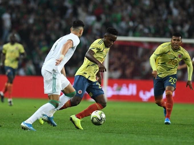 ¡Papelón! Colombia cayó goleada por Argelia, lo que desató 'lluvia' de críticas contra Queiroz