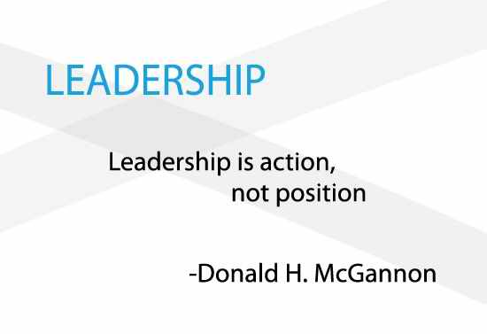 HD leadership quote
