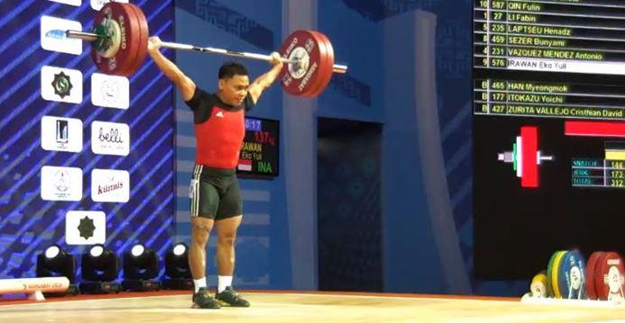 Eko Yuli Irawan Juara Dunia