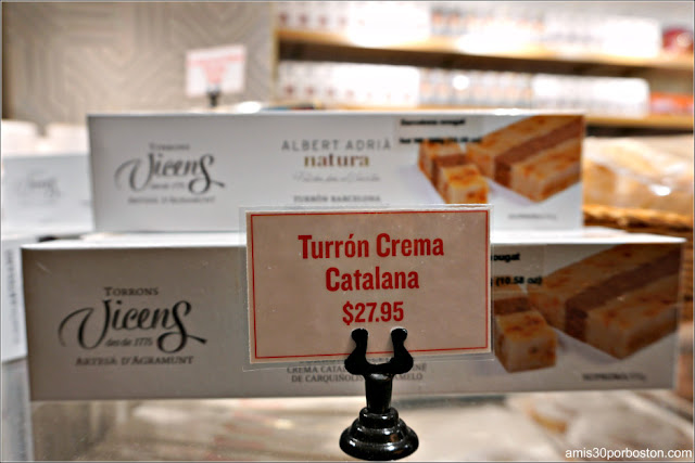 Turrones en Mercado Little Spain en Nueva York