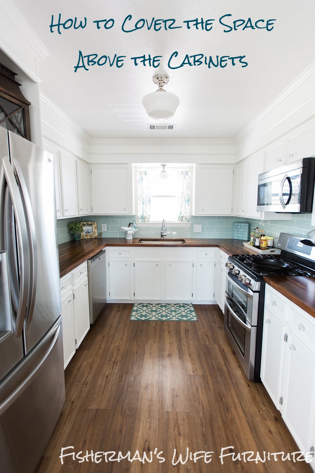 Spacing Between Kitchen Cabinets Fisherman's Wife Furniture: Covering Fur Down - The Space