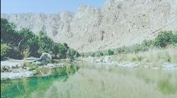 وادي طيوي في سلطنة عمان