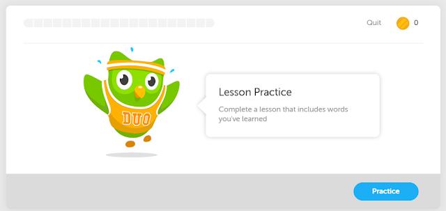 Sova je maskota platforme Duolingo i uvek je sa Vama