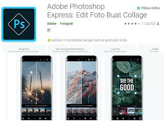Aplikasi edit foto terbaik di android untuk Instagram Selebgram