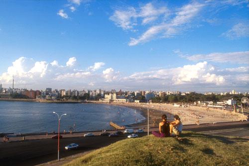 Montevideo - Hallaron un hombre muerto en la zona de la rambla del Parque Rodó