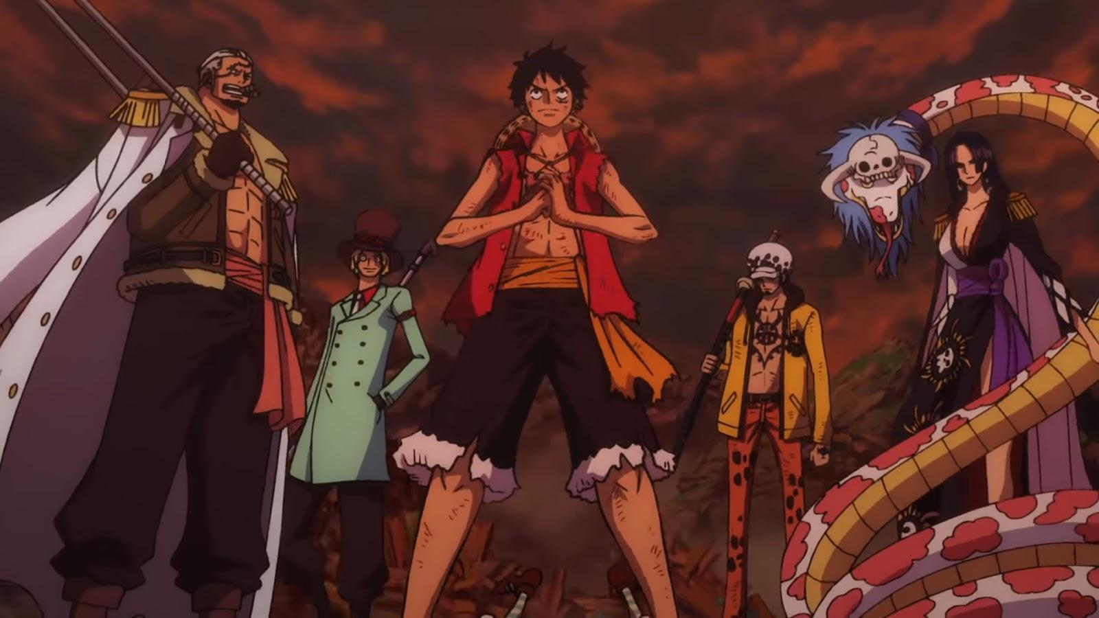 El Bluray De La Película One Piece Stampede Finalmente
