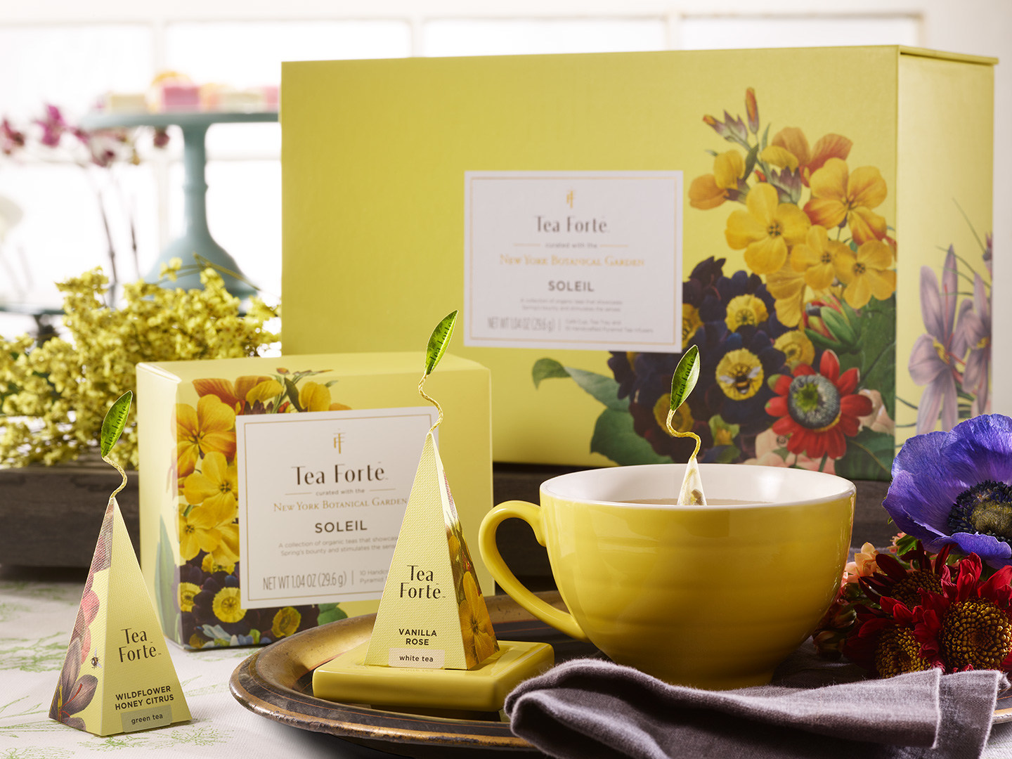 Limited-edition Tea Forte curated collection