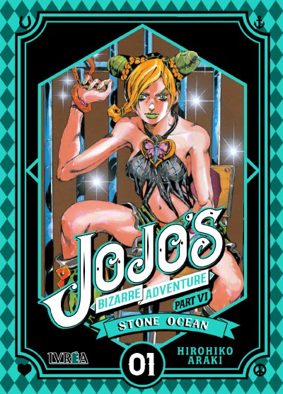 Reseña de JoJo's Bizarre Adventure Part VI: Stone Ocean, de Hirohiko Araki - Ivréa