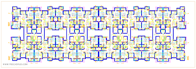Apartment electrical drawing DWG