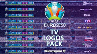 PES 2021 Scoreboard UEFA EURO 2020 TV Logos Pack by Spursfan18