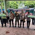 Keluarga Besar Polres Dairi Buat Surprise Kepada Kodim 0206 Serta Kompi 125 Dalam Rangka Dirgahayu Kodam l/BB Ke-71