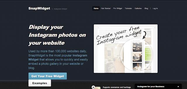Widget Instagram Terbaik Untuk Blogger