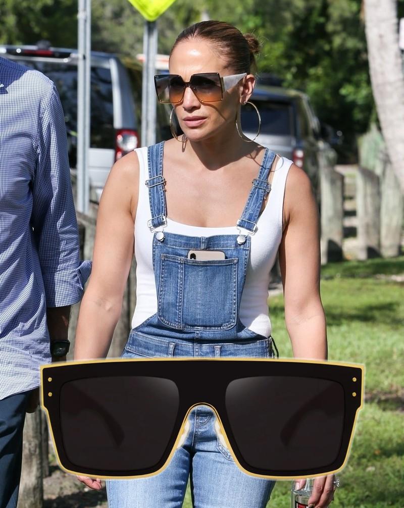 Óculos de sol das famosas para o verão 2020 - Jennifer Lopez