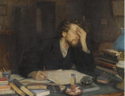 Leonid Pasternak painting