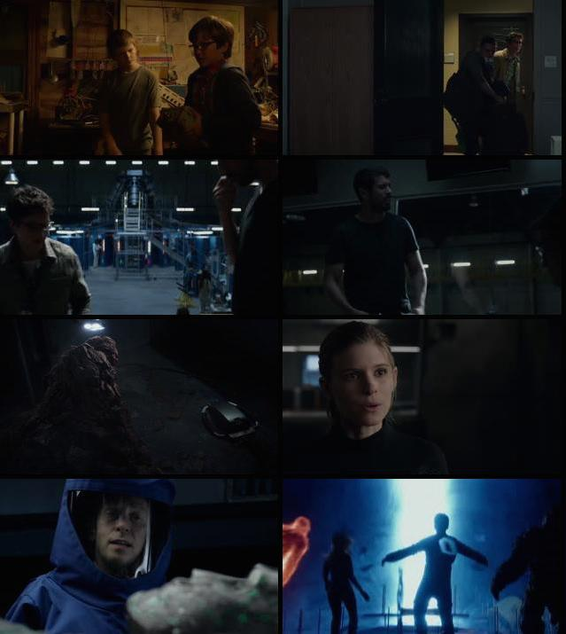 Fantastic Four 2015 Dual Audio Hindi BluRay 720p