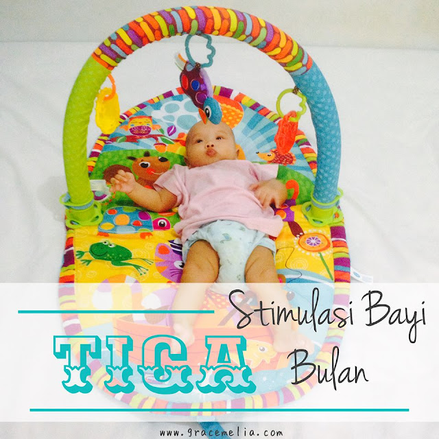stimulasi bayi 3 bulan