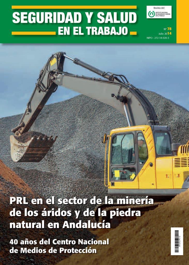 PRL en el sector de la minería de los áridos y de la piedra natural en Andalucía