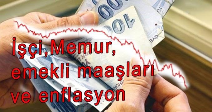 Memur İşçi Emekli Maaşları Ve Enflasyon