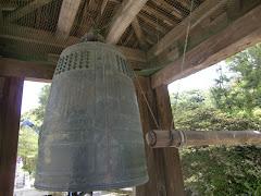 建長寺の国宝梵鐘