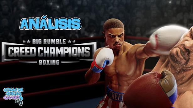 Análisis Big Rumble Boxing Creed Champions para PS4