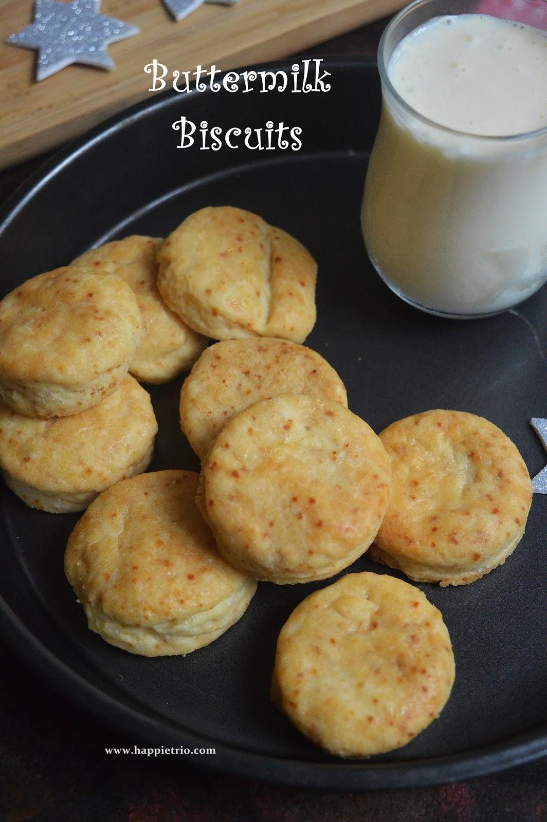 Buttermilk Biscuuits Recipe   Eggless Buttermilk Biscuits