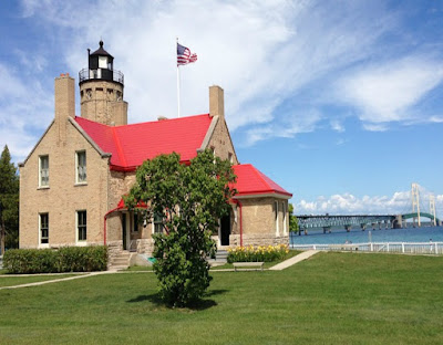 Old Mackinac Point Lighthouse, Lake Michigan