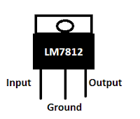LM7812 pin out diagram