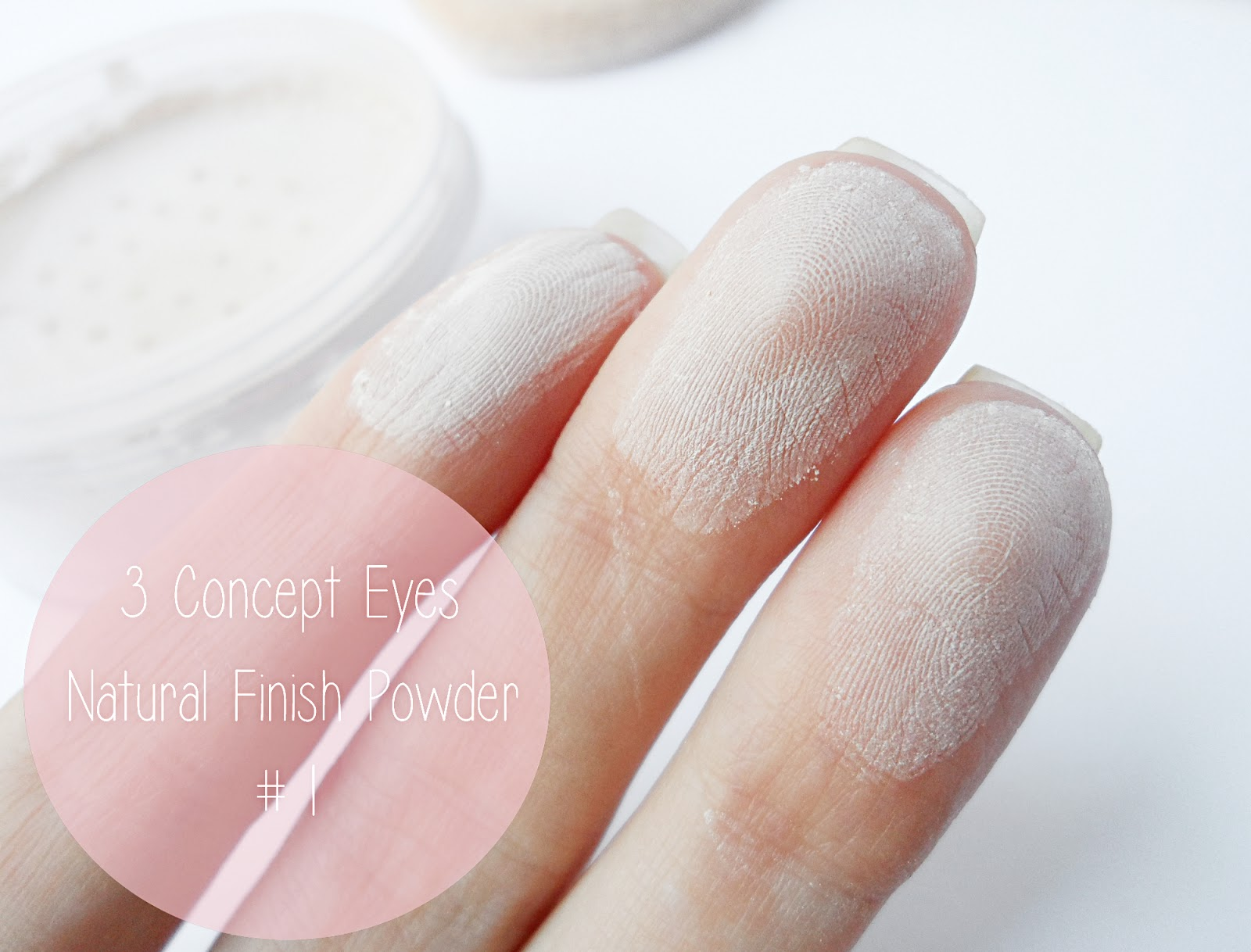 3CE e concept eyes style by nanda makeup review blogger liz breygel swatches  natural translucent powder