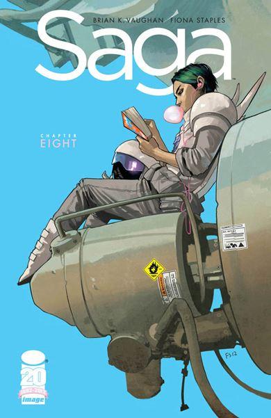Saga es uno de los mejores cómics de ciencia ficción