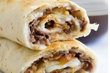 French Dip Tortilla Roll Ups
