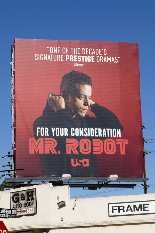 Mr Robot season 4 FYC billboard