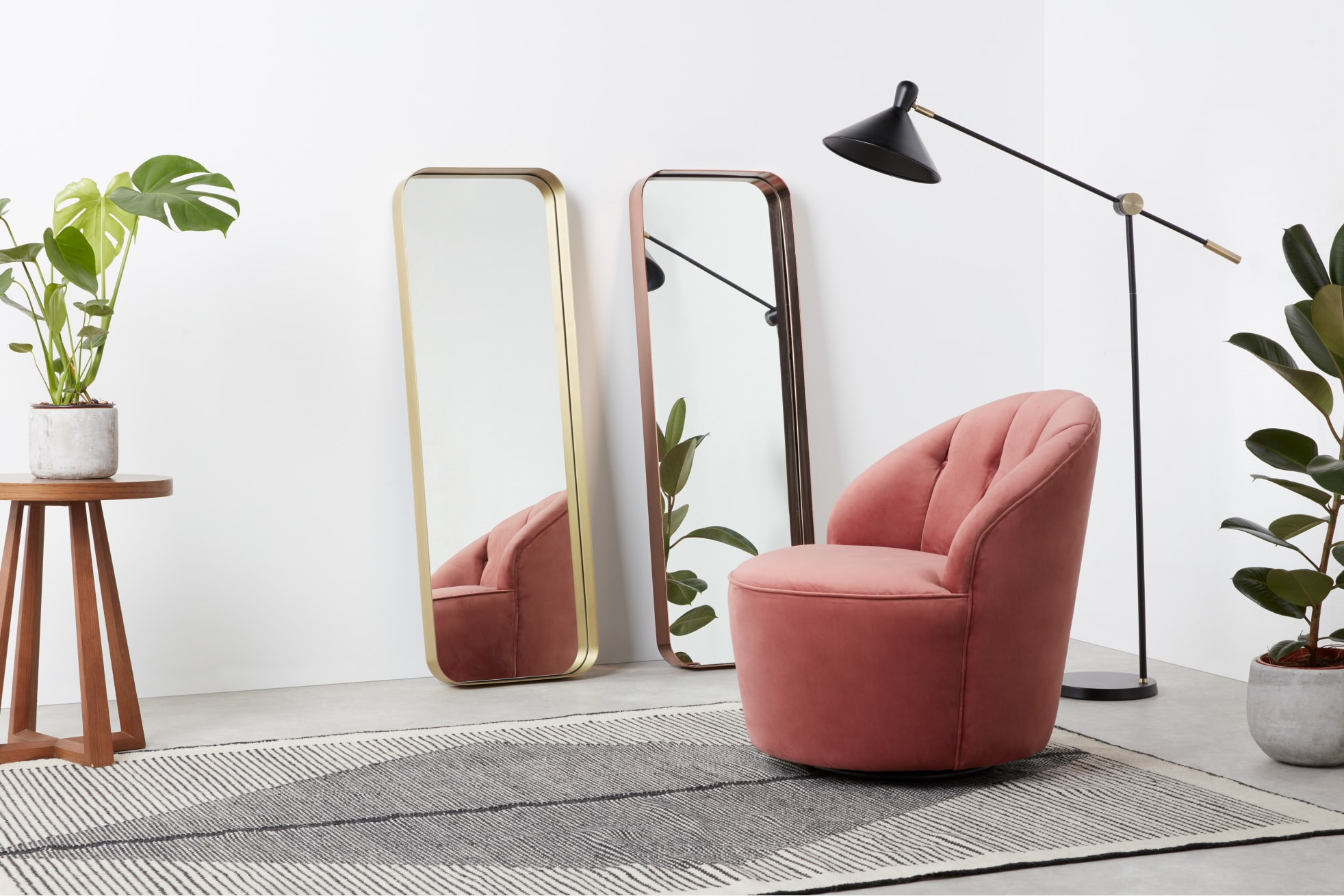 nowoczesne lustra do salonu