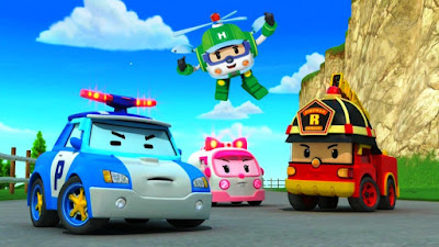 Wallpaper Robocar Poli