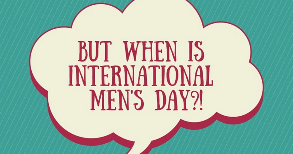 international men's day - 1200×630