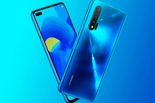 Huawei Nova 6 5G first image reveals a perforated screen with dual front camera