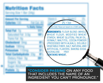 reading food labels, nutrition facts, tips, 3 tips to read ingredient labels,