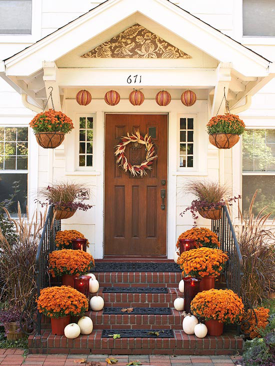 Fall decor for outside your home