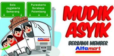Info dan Cara Mudik Gratis 2013 dari Alfamart