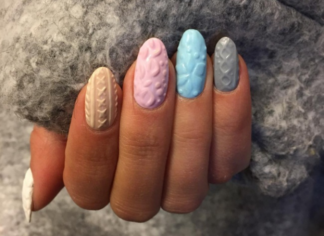 20 great ideas for winter manicure