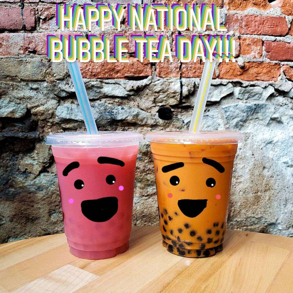 National Bubble Tea Day Wishes Awesome Images, Pictures, Photos, Wallpapers