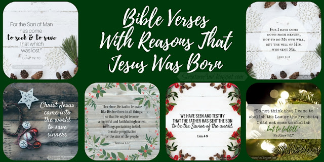 Free Images of Bible Verses With Reasons That Jesus Was Born   scriptureand.blogspot.com