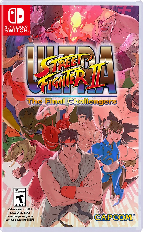 Ultra Street Fighter II NSP Switch